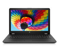 "HP 15.6"" Laptop Intel 2.6 GHz 500GB HDD 4GB RAM DVD+RW Webcam BT Win10 Jet Black"