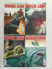 4X GREAT WHITE SHARK ATTACK Comic HOOK JAW # 1 2 3 Variant Covers ~ Titan ~ JAWS
