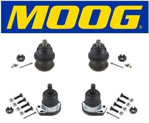 Moog 2 Upper & 2 Lower Ball Joint Kit for 1970 Buick GS 455