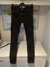 Topmam Washed Black Spray On Skinny Jeans: Size 32 Long