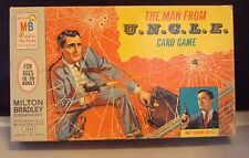 "Vintage 1965 TV Show ""The Man From U.N.C.L.E"" Card Game! MISB! Ideal Toy Corp!"
