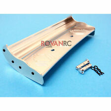 1/5 Scale Rovan Silver CNC Aluminum Wing Fit HPI Baja 5b SS 2.0 King Motor Buggy