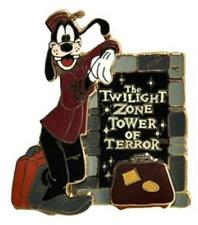 BELLHOP GOOFY COUNTDOWN TO Hollywood TOWER OF TERROR LE Disney DCA PIN 28662