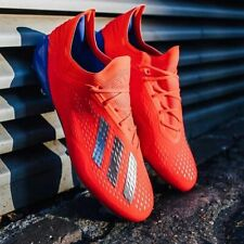 $225 New Adidas X 18.1 FG Soccer Cleats Boots Red-Blue-Silver Predator Nemeziz