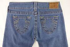 TRUE RELIGION Jeans Women's 27 Regular Light Wash Denim Boot Cut Leg 053-057771