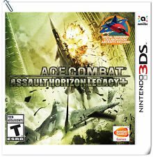 3DS Nintendo Ace Combat: Assault Horizon Legacy+ Action Bandai Namco Games
