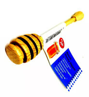2 X Honey Hunny Dipper Drizzler Beech Wood By Tala Brand