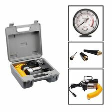 RAD Cycle Products 12 Volt Electric Tire Air Pump w/Gauge For Bike Or Auto NEW