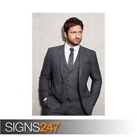 GERARD BUTLER (2124) Celebrity Poster - Picture Poster Print Art A0 A1 A2 A3 A4