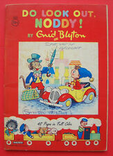 """Enid Blyton DO LOOK OUT NODDY Saalfield USA 1957 """"Combined US Shipping"""""""