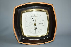 Barometer ca. 50 Jahre alt Fabrikat TT Thermometer Western Germany Fach E3