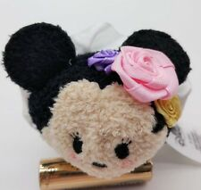"2017 Authentic Disney Store Tsum Tsums Minnie Mouse 3.5"" MINI Plush doll"