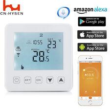 WiFi Thermostat Electric Heating LCD Smart Digital Controller Alexa Google Room