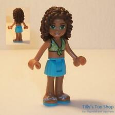 Lego Minifig - Andrea, Azure Skirt, Lime Top - ID FRND197 - NEW RARE