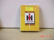 "INTERNATIONAL HARVESTER IH ""RED POWER ON PARADE"" DECK OF UNOPENED CARDS"