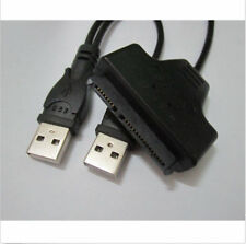 SATA 7+15 Pin 22Pin to USB Adapter Cable For  2.5HDD Laptop Hard Disk Drive