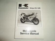 2005 Kawasaki Ninja ZX-10R Motorcycle Service Repair Shop Manual FACTORY NEW