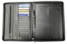 Proaid Professional Business Leather Resume Organizer Portfolio Folder document