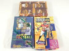 1995 Upper Deck - Fleer - Pinnacle Football Card Box Sealed - 3 Boxes