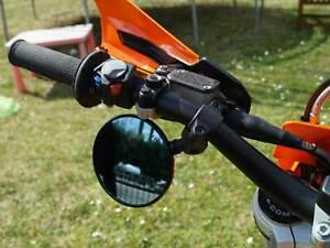 1 x Lenkerspiegel FLEXI 7699 Supermoto Enduro Naked Bike