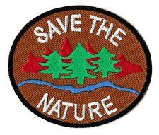 Écusson ecolo patche Save The Nature patch badge thermocollant hotfix