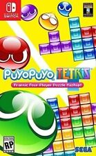 New! Puyo Puyo Tetris Nintendo Switch NSW Puzzle Free Shipping SEGA #$