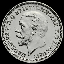 More details for 1927 george v silver proof threepence, scarce, afdc