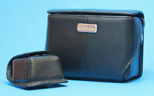 Canon Powershot Semi-Hard Leather Case PSC-5000 G7 Camera + Extra Mini Pouch