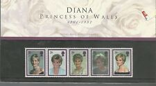 1998 Diana Princess of Wales Presentation Pack U.K.