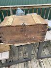 vintage wooden beer case Prima Beverages Chicago Illinois Pre Prohibition Era
