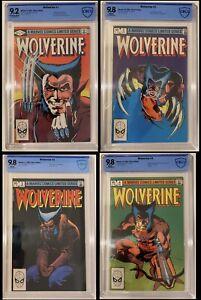 Wolverine 1,2,3,4, 9.2, 9.8, 9.8, 9.8 CBCS