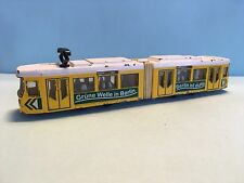 Diecast Siku Tram No. 1615 Yellow Wear & Tear Used Condition