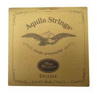 Aquila Soprano Ukulele Strings - 4U Nylgut Standard Tuning - GCEA Made in Italy