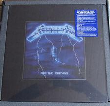 "METALLICA ""Ride The Lightning"" BOX Set 6CD + DVD + 3LP + 12"" sealed US Import"