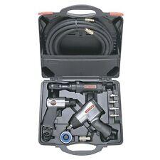Air Tool Set 10 pc Craftsman Tools Kit Impact Ratchet Wrench Hammer Hose Case