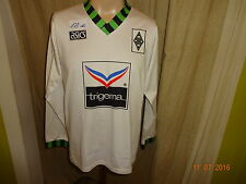 "Borussia Mönchengladbach asics Langarm Heim Trikot 1992-1994 ""trigema"" Gr.S TOP"