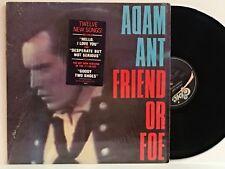 ADAM ANT Friend Or Foe 1982 EPIC LP FE 38370 Shrink & Hype NM