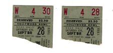 Rare Donovan Live At The Hollywood Bowl Sept 28, 1968 Concert Stubs