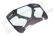 Prepreg a secco in fibra di carbonio fibre di vetro COPERTURA DEL MOTORE Cappuccio per FERRARI F488 SPIDER