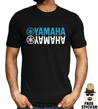 Yamaha Biker T-shirt Motorcycle Rider Motorbike Racing Racer Men's Dad Gift Top