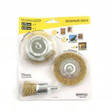 3PCS Brush Set With Shank Steel Wire Wheel Cup Brush