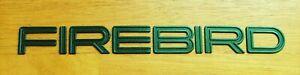 Original 1993-1997 Pontiac Firebird Door Emblem-Badge-Dark Green Metallic