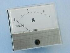 Amperometro 5A dc 70x60, classe 1.5