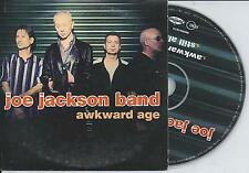 JOE JACKSON BAND - Awkward age Promo CD SINGLE 2TR CARDSLEEVE 2003