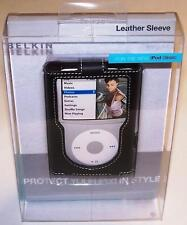 BELKIN Leather Case for iPod Classic 5G 6G 7G 80GB 120GB 160GB F8Z205-BLK