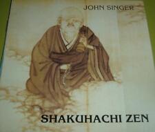 John Singer Shakuhachi Zen CD EX Bamboo Flute 1989 Zen Buddhist