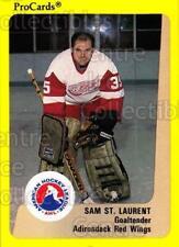 1989-90 ProCards AHL #315 Sam St. Laurent