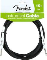 Fender Performance Series Instrument Cables for electric guitar, bass guitar