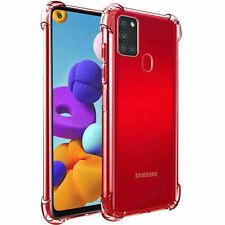 Shockproof Case For Samsung Galaxy S8 S9 S10 +  Gel Bumper HARD TPU Clear Cover
