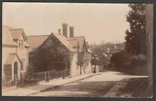 Postcard Evershot nr Beaminster Dorset village early RP by Barrett of Bridport
